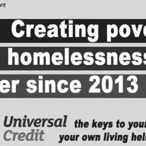 Universal Credit creates Poverty